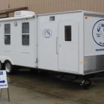On-site Office Trailer